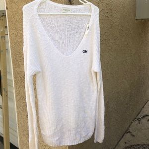 White Gilly Hicks Sweater